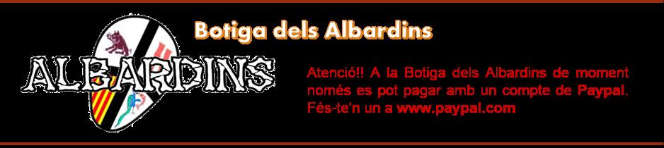 Pàgina dels Albardins